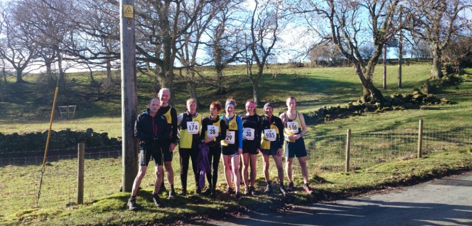 Victory at Commondale Clart Fell Race