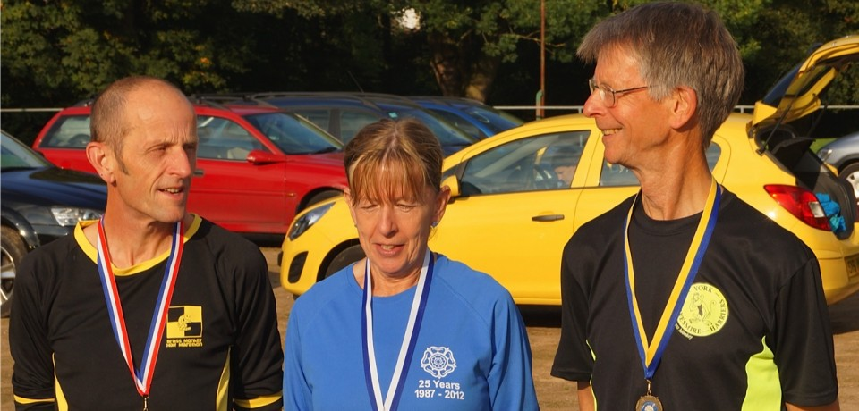 YKH Medal Haul at Yorkshire Vet's Cross Country Championship