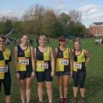 Ladies team at Wakefield