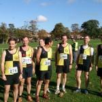 Men's team at Wakefield