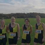 Ladies team at West Park