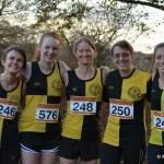 Ladies team at Keighley