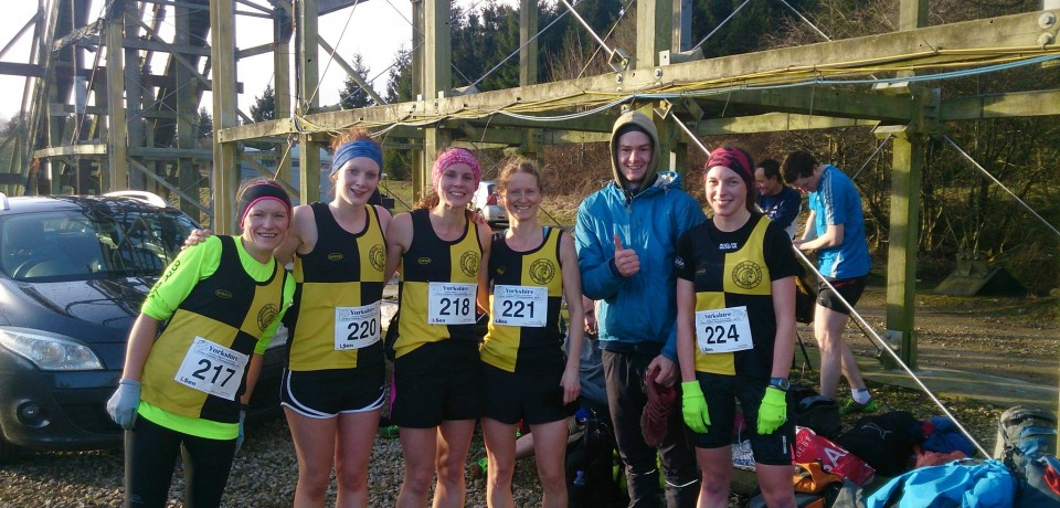 The Magnificent Sevenths at the Yorkshire Cross Country Championships
