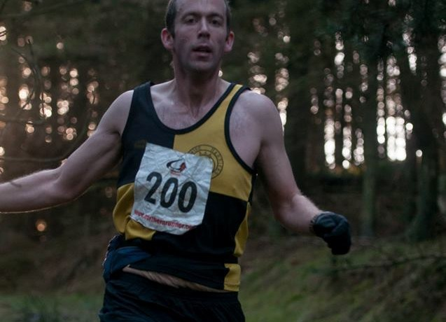 Chris Roberts 2nd at Clay Bank East Fell Race