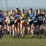 Start of the Ladies race
