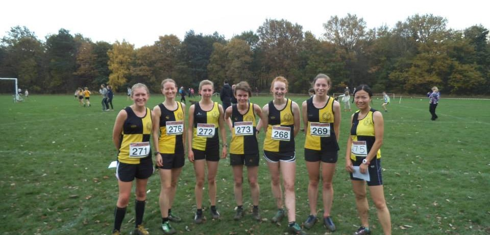Weekend Round up 31 Oct – 1st Nov. Ladies Team 2nd at XC & more..