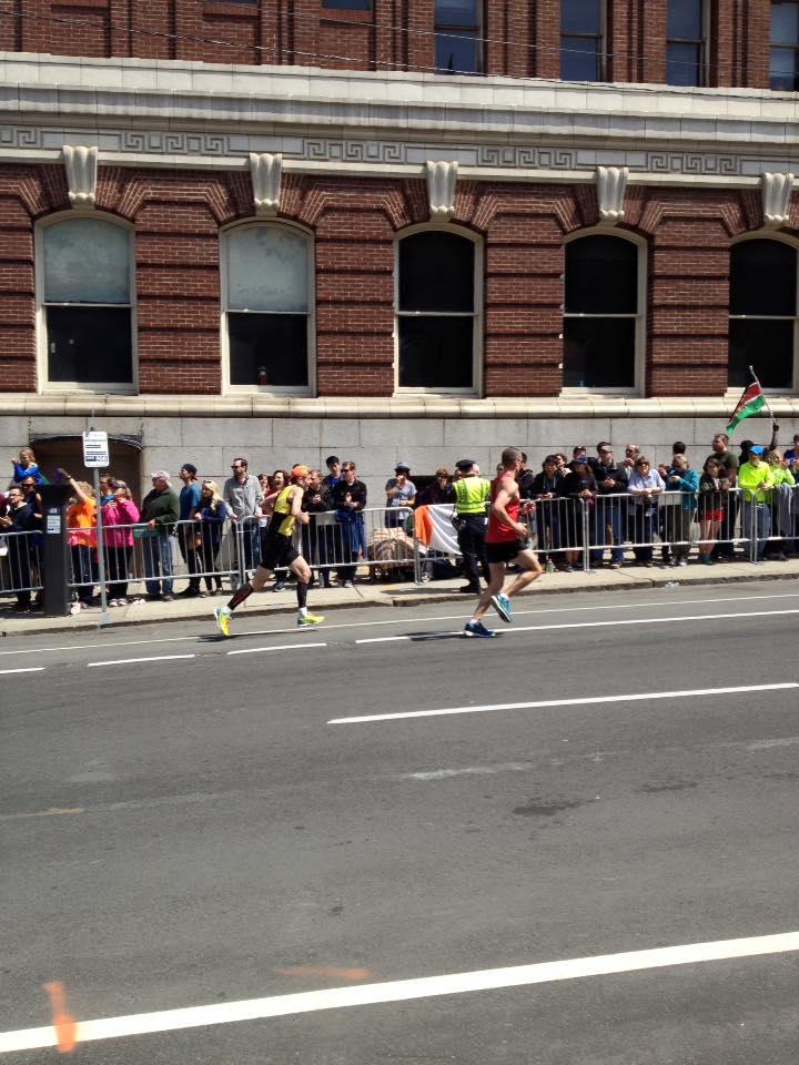 Stephen Maddison at Boston