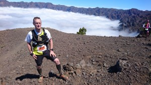 Giles Hawking tackled the 43 miles Transvulcania race on the Canarian island of La Palma. Improving on his last 14hr slog, to finish with a time of 13 hours and 10 minutes