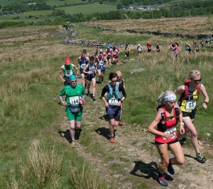 Gail Stride begins her first Fell Race
