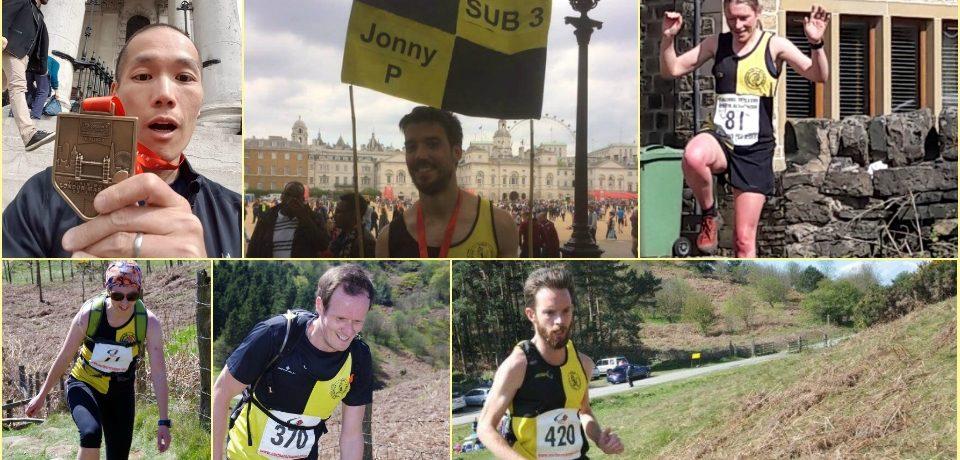 YKH Weekly Round Up we 23rd April – London Marathon / Vets Honley/ Gisborough  & more….