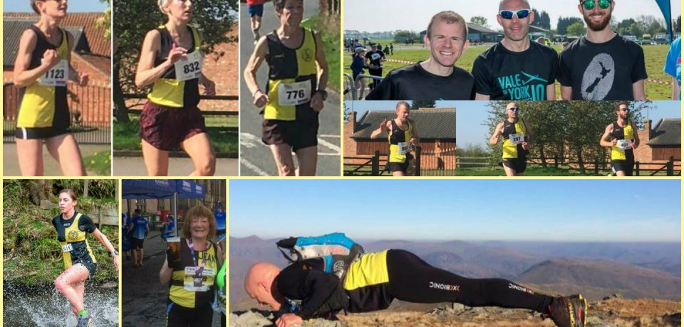 YKH Weekly Round Up – w.e 9th April : Vale of York / Sheffield Half & more….