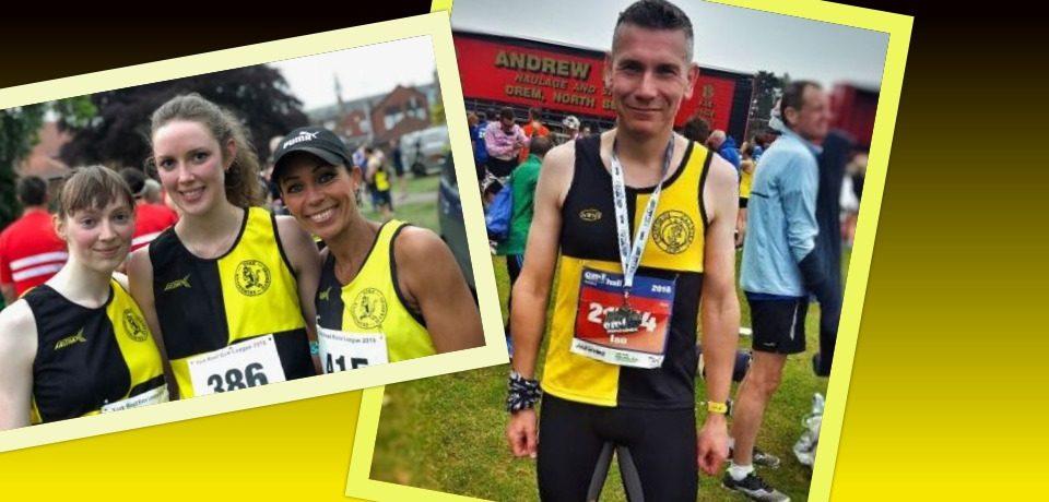 YKH Racing Round Up – w.e 27th May – Edinburgh Marathon Festival & more…